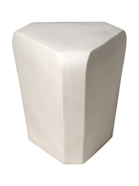 Triangle Stool in White design by Emissary