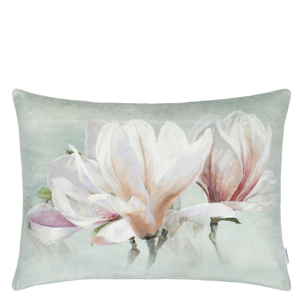 Yulan Magnolia Decorative Pillow