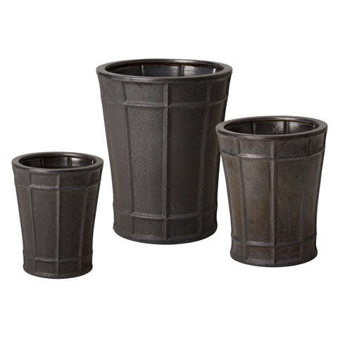 Set of 3 Varro Pots
