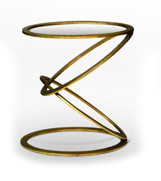 Mobius End Table design by Interlude Home