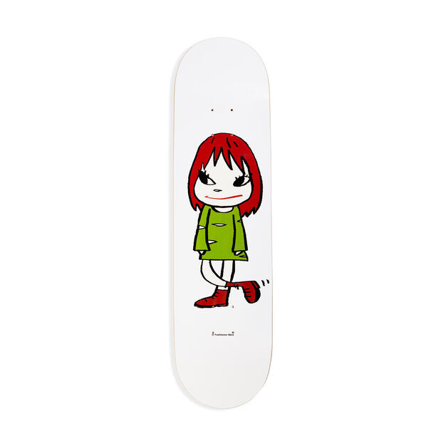 Yoshitomo Nara: Welcome Girl Skateboard