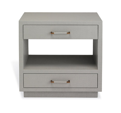 Taylor Bedside Chest in Grey design by Interlude Home