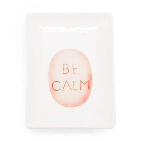 Louise Bourgeois Be Calm Catchall Tray