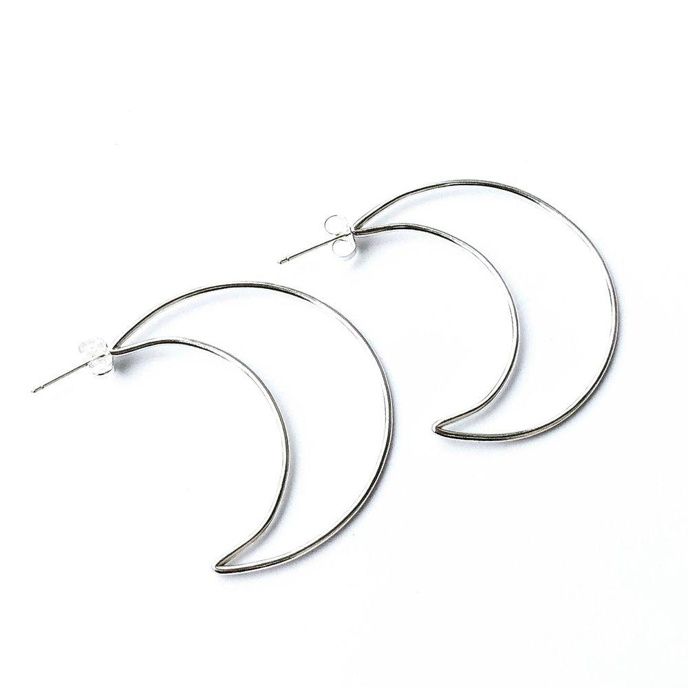 Correne Eclipse Hoops design by Agapantha