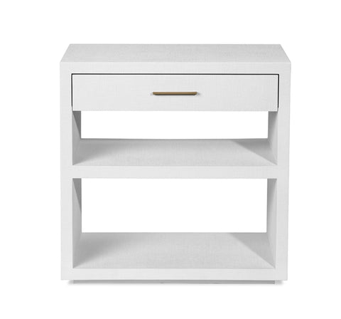 Livia Bedside Chest in White design by Interlude Home