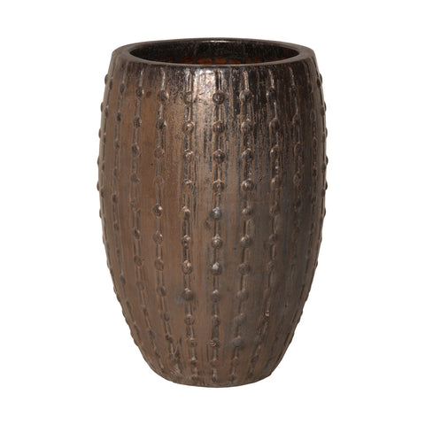 Gunmetal Stud Pot