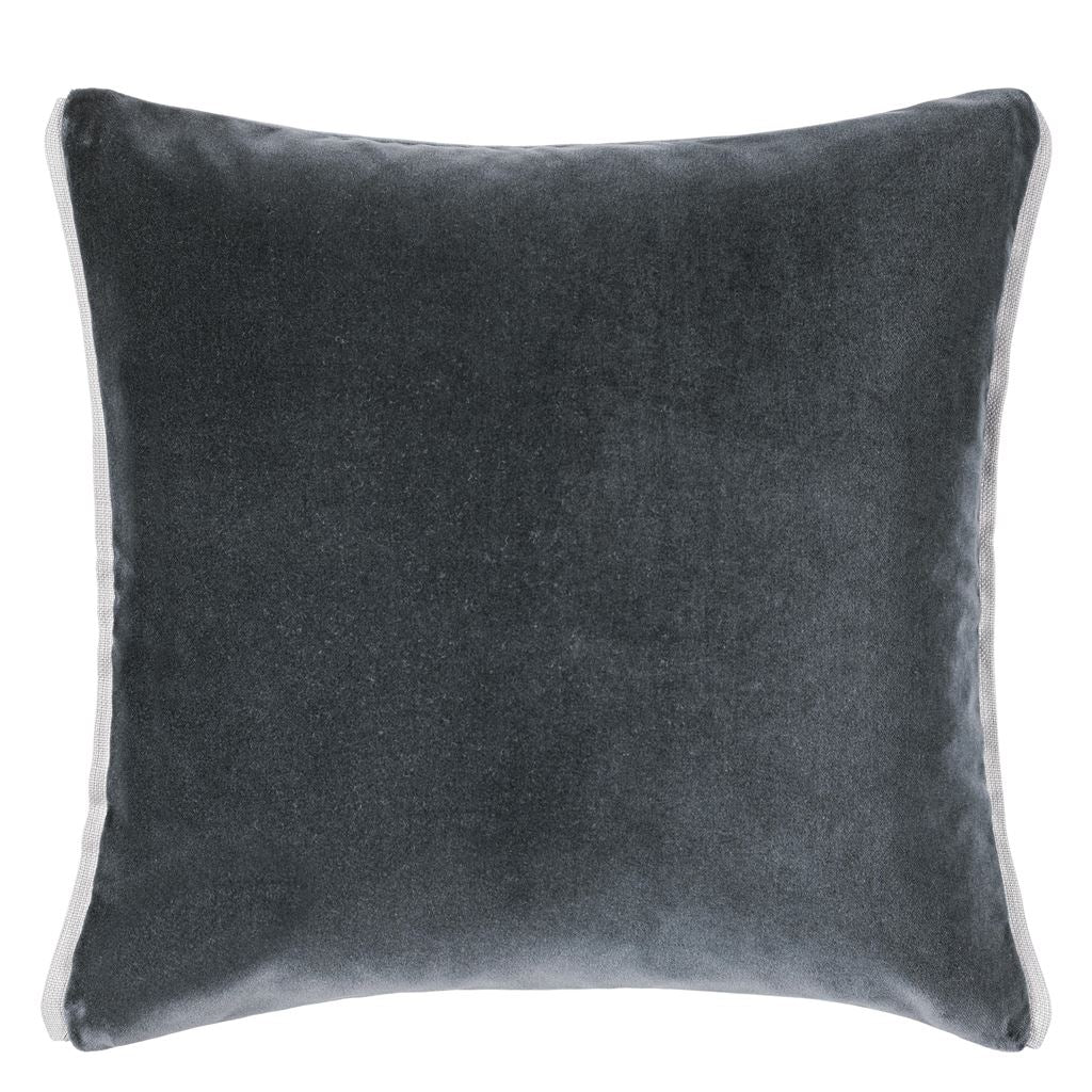 Varese Graphite & Platinum Cushion