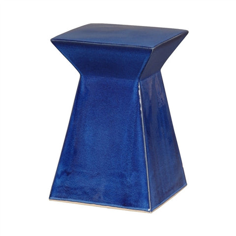 Upright Garden Stool in Blue design by Emissary