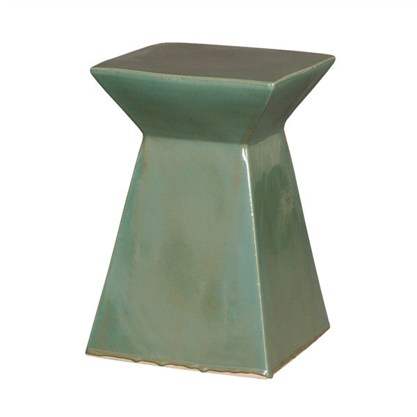 Upright Garden Stool in Green design by Emissary