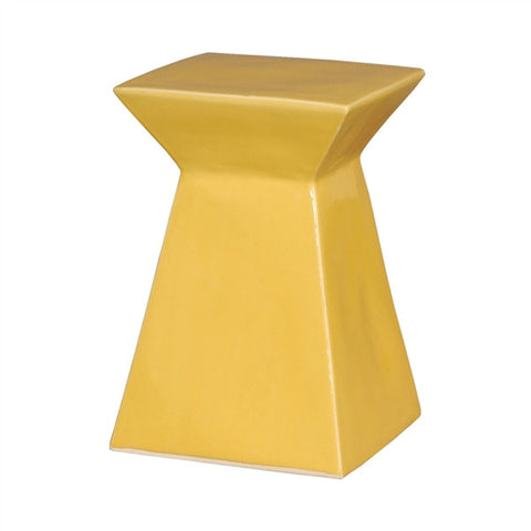 Upright Garden Stool in Sun Yellow design by Emissary