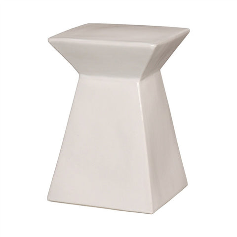 Upright Garden Stool in White design by Emissary