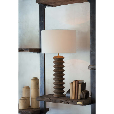 Accordion Table Lamp in Various Colors design by Regina Andrew