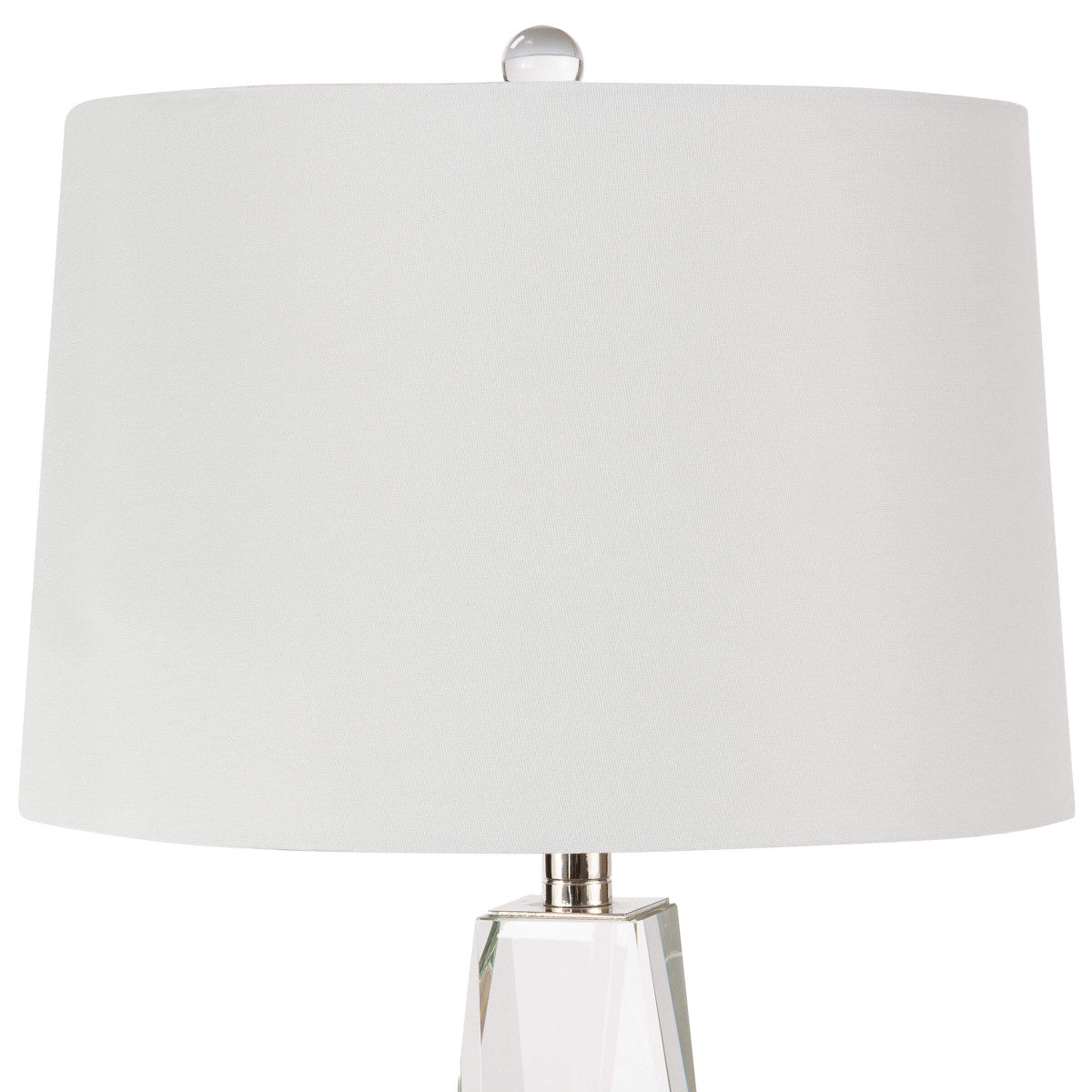 Picture of: Angelica Crystal Table Lamp Small Burke Decor