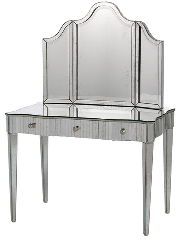 Gilda Vanity Mirror design by Currey & Company