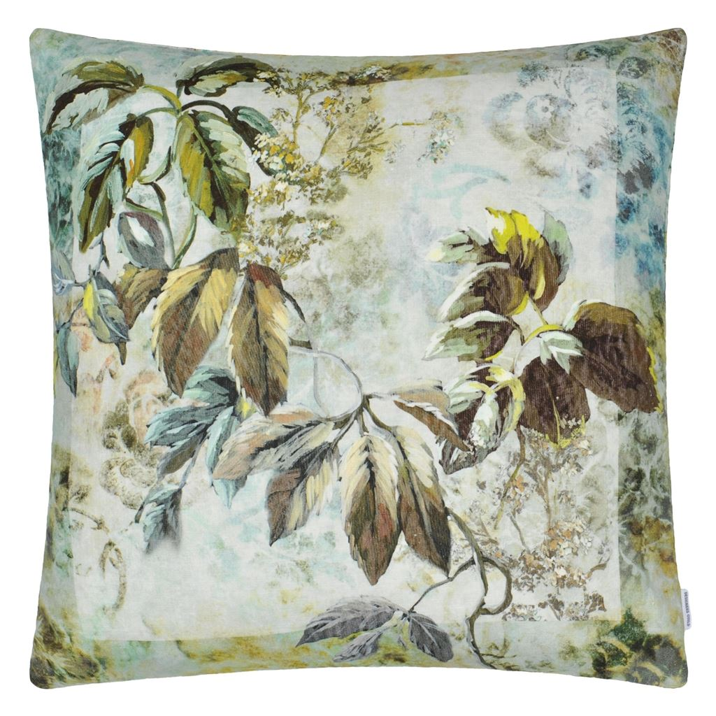 Jangal Ecru Decorative Pillow
