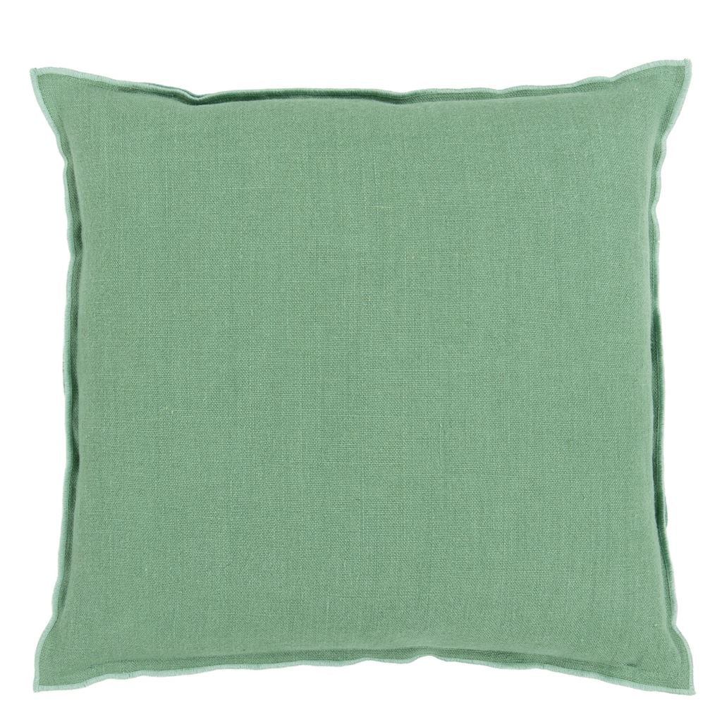Brera Lino Thyme & Jade Decorative Pillow