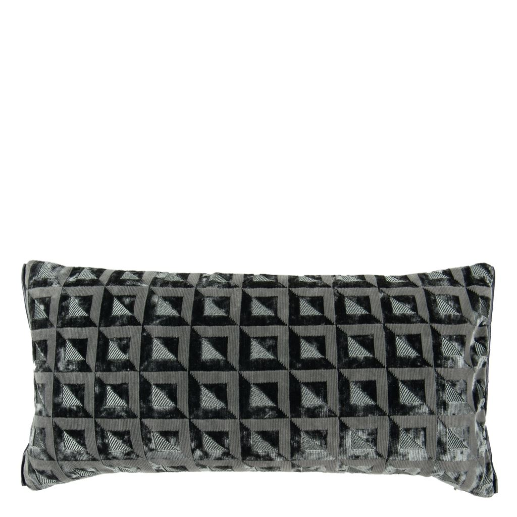 Monserrate Graphite Decorative Pillow