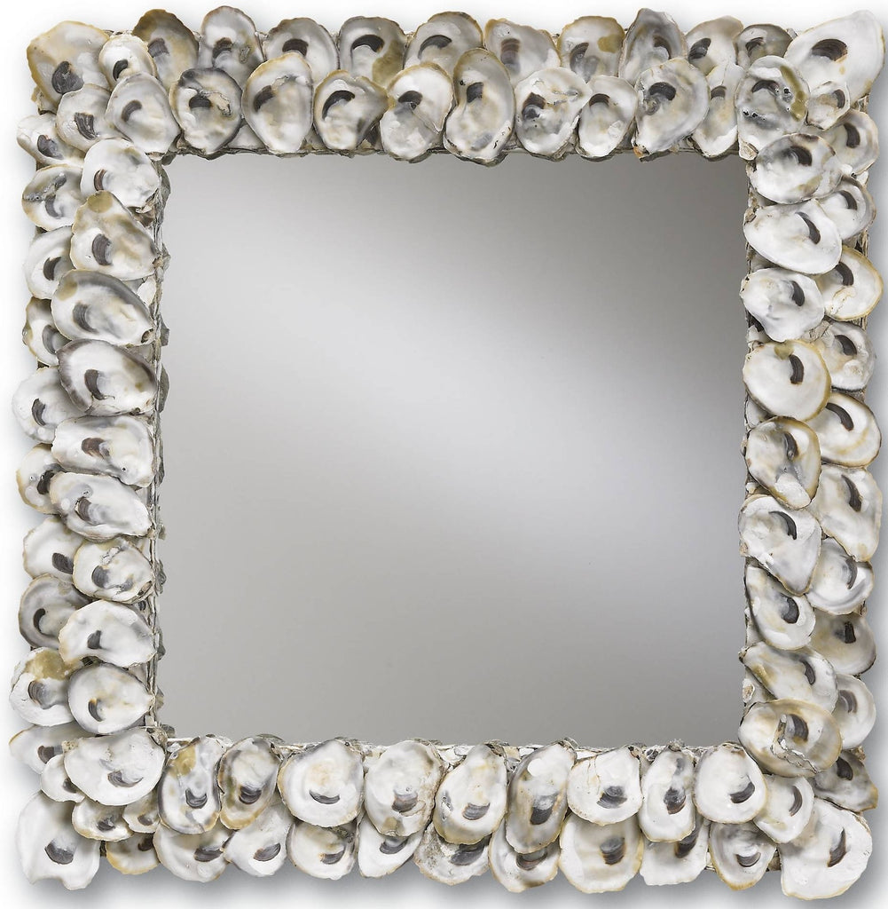 Oyster Shell Wall Mirror design by Currey & Company