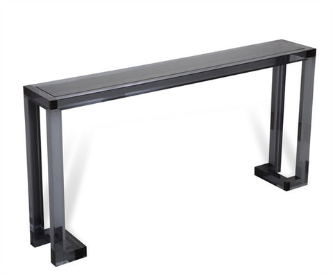 Ava Sofa Table in Smoke design by Interlude Home
