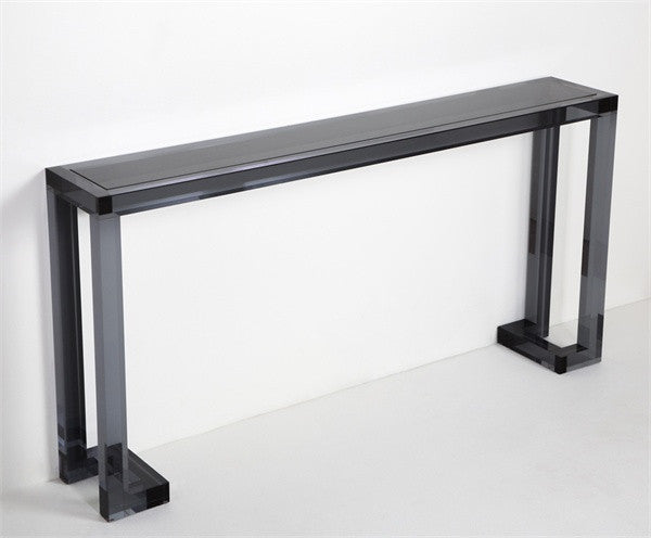 Ava Sofa Table in Smoke