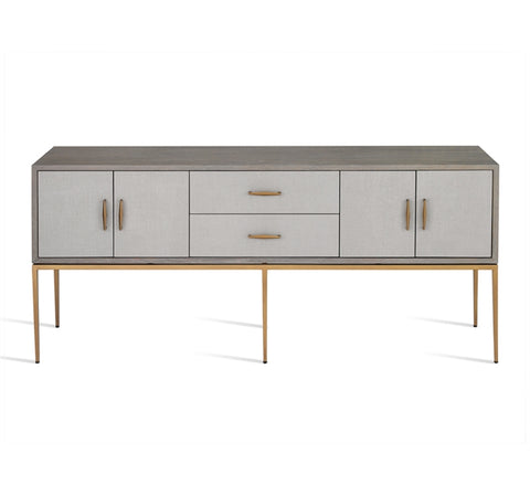 Corinna Buffet in Grey design by Interlude Home