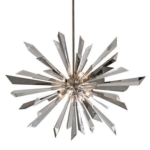 Inertia Chandelier by Corbett Lighting