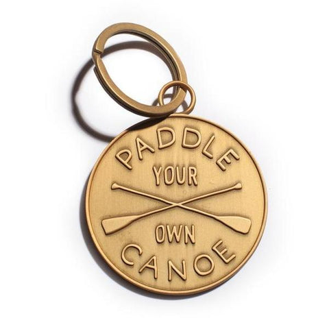 Paddle Your Own Canoe Keychain design by Izola
