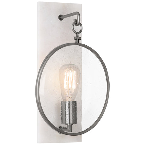 Fineas Wall Sconce in Various Finishes design by Robert Abbey