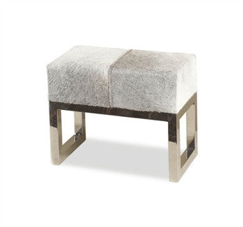 Moro Hide Stool design by Interlude Home