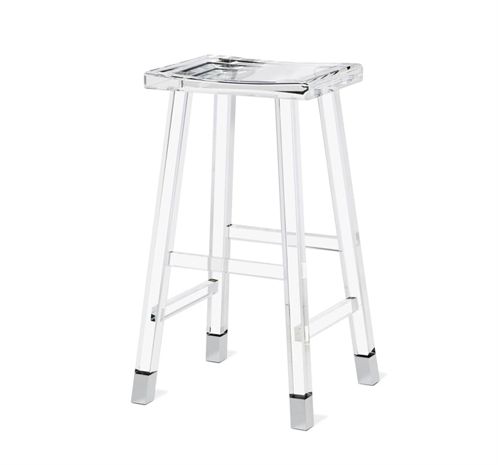 Reva Bar Stool - Nickel design by Interlude Home