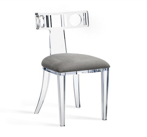 Ardsley Acrylic Klismos Chair design by Interlude Home