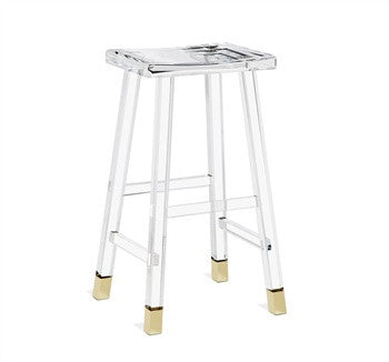 Reva Brass Bar Stool design by Interlude Home