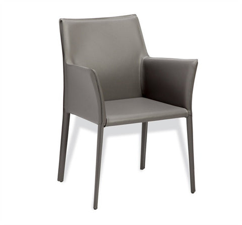 Jada Arm Chair in Grey design by Interlude Home