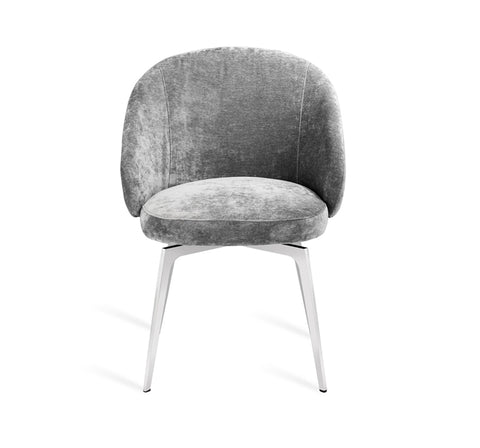Amara Dining Chair in Grey design by Interlude Home