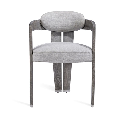 Maryl II Dining Chair in Grey Linen design by Interlude Home