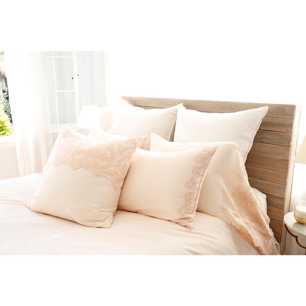 Grace Duvet Set in Pink Champagne design by Pom Pom at Home