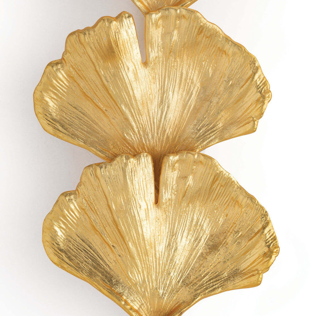 Ginkgo Sconce Large