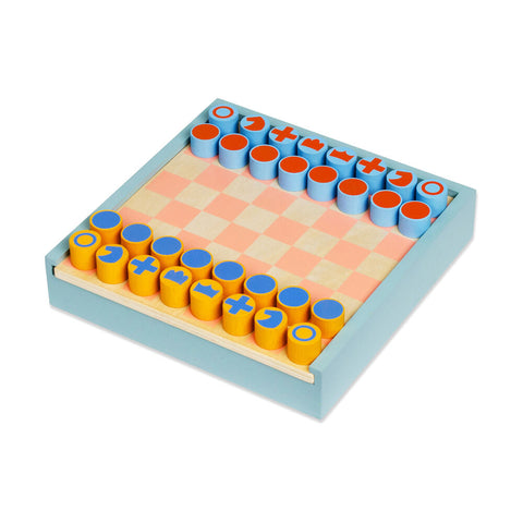 2-in-1 Chess & Checkers Set by MoMA