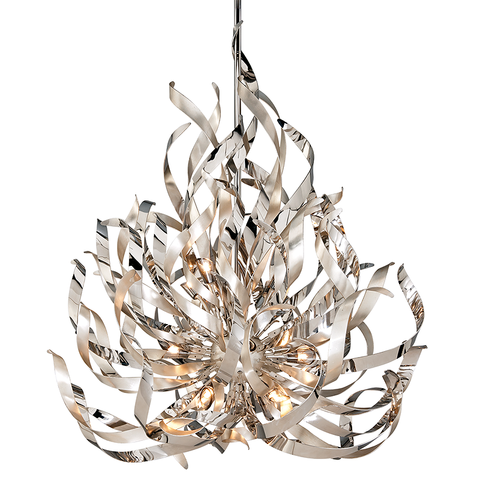 Graffiti Chandelier by Corbett Lighting
