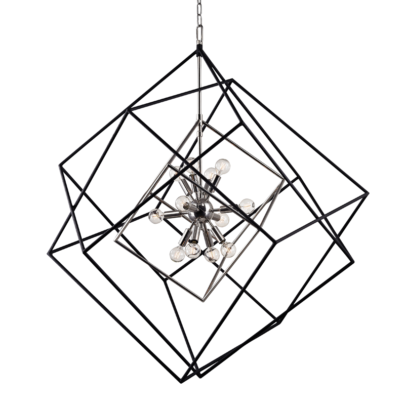 Roundout 12 Light Pendant