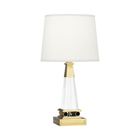 Darius Table Lamp in Brass design by Robert Abbey