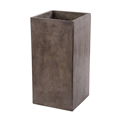 Short Al Fresco Cement Planter design by Lazy Susan
