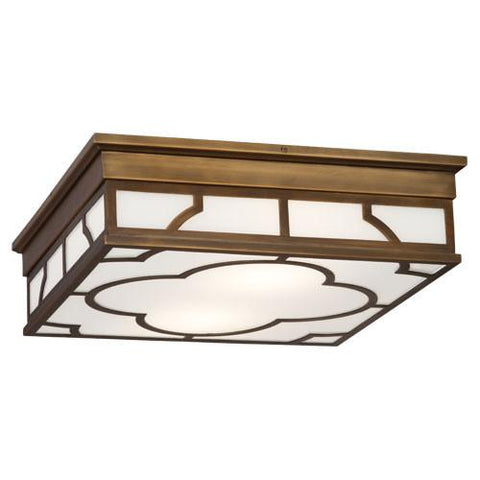 Addison Collection Flush Mount by Robert Abbey