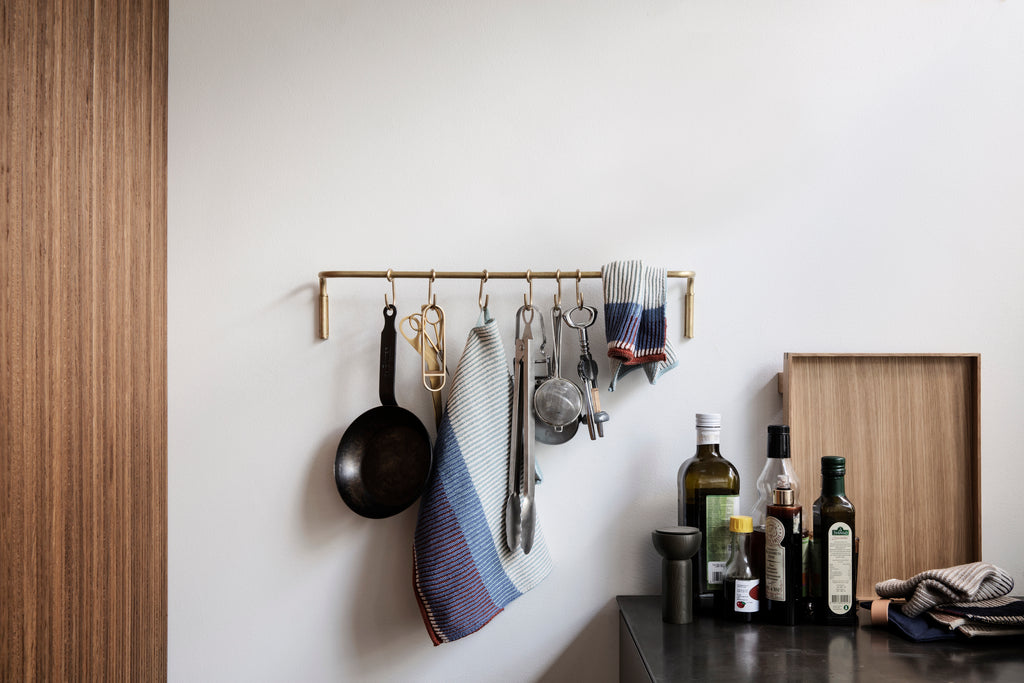 Kitchen Rod & Hooks in Various Colors by Ferm Living