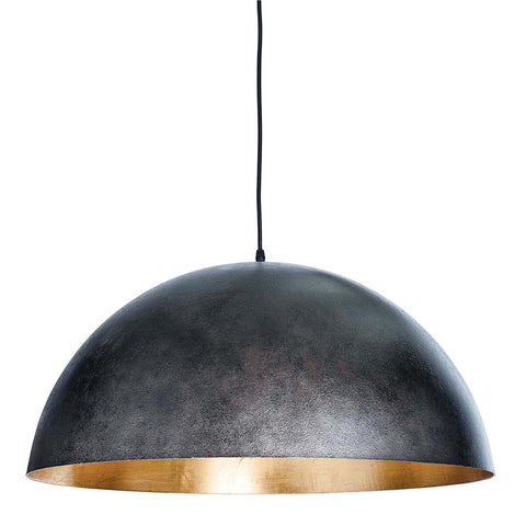 Large Sigmund Pendant in Black & Gold design by Regina Andrew