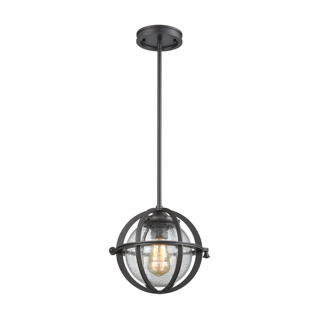 Aubridge 1 Pendant in Oil Rubbed Bronze