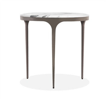 Camilla Arabescato Side Table design by Interlude Home