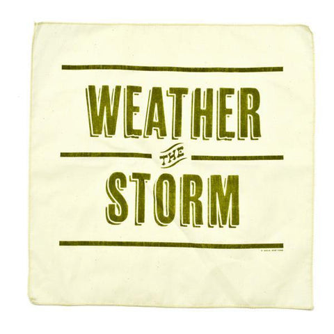 Weather the Storm Handkerchief design by Izola