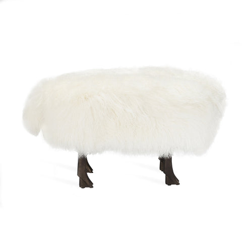 Jacques Sheep Stool Design By Interlude Home