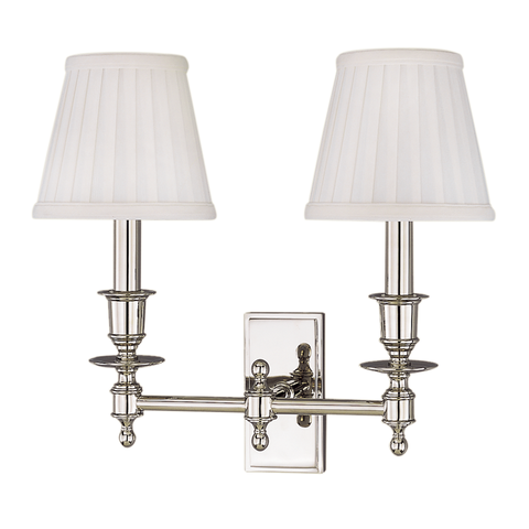 Ludlow 2 Light Wall Sconce by Hudson Valley Lighting